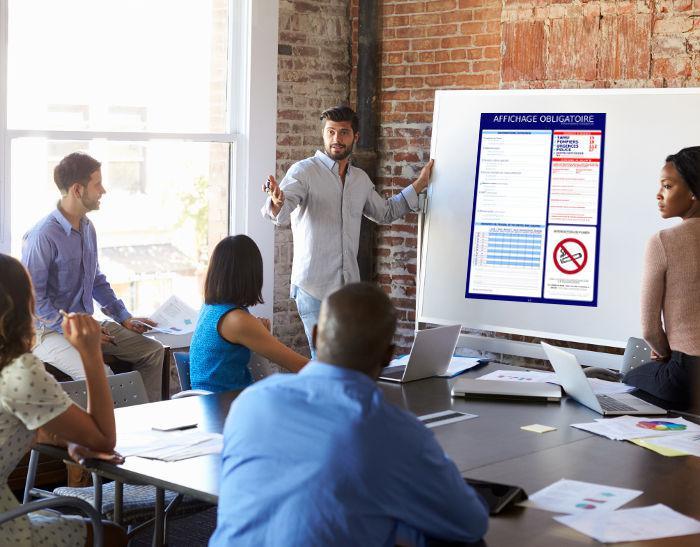 Les affichages obligatoires en entreprise : un point important pour préserver les droits des employés